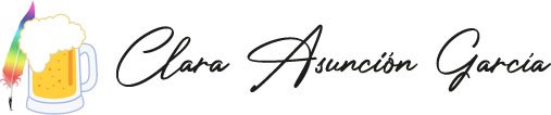 Clara Asunción García – La pluma y la espuma Logo