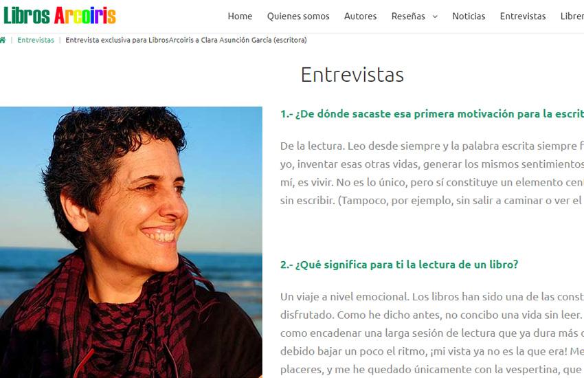 Clara Asunción García - Escritora