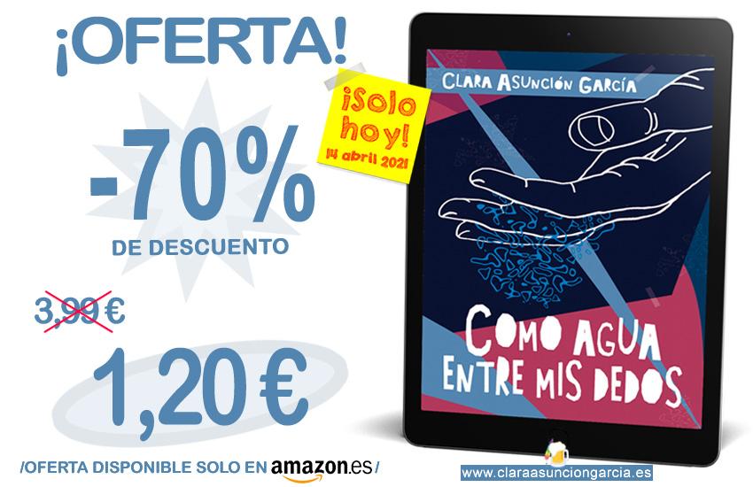 Como agua entre mis dedos - Clara-Asuncion-Garcia -Novela -Intriga romantica