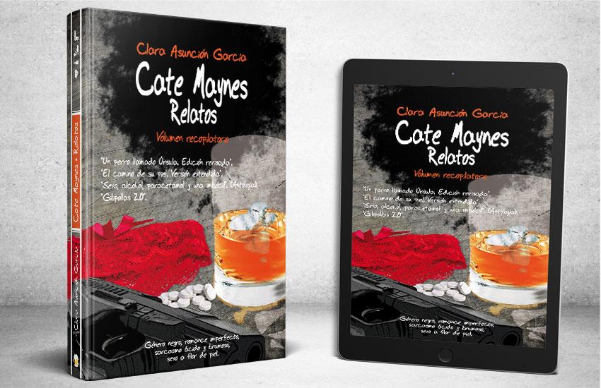 Recopilatorio Relatos Cate Maynes - Clara Asuncion Garcia. Serie Cate Maynes
